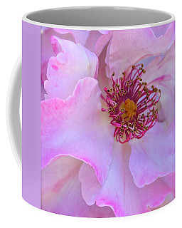The Heart Of A Rose Coffee Mug by Venetia Featherstone-Witty