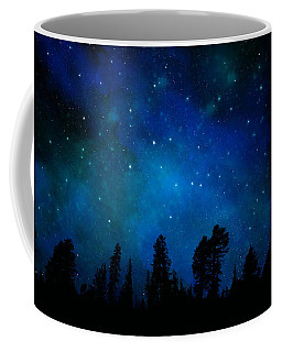 The Heavens Are Declaring Gods Glory Mural Coffee Mug