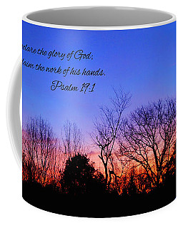 The Heavens Declare Coffee Mug