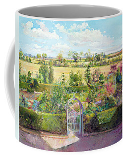 The Herb Garden After The Harvest Coffee Mug