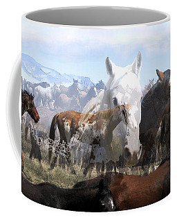 The Herd 2 Coffee Mug by Kae Cheatham