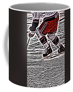 The Hockey Player Coffee Mug