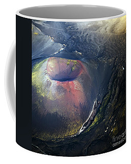 Coffee Mug featuring the photograph The Hole by Gunnar Orn Arnason