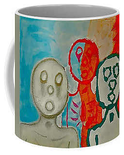 The Hollow Men 88 - Study Of Three Coffee Mug