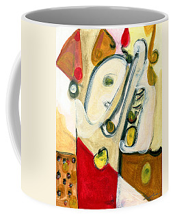 The Horn Player Coffee Mug