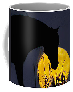 The Horse In The Moon Coffee Mug