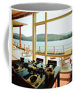 The House Of Mr. And Mrs. Alfred Rose On Lake Coffee Mug
