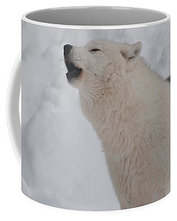 Coffee Mug featuring the photograph The Howler by Bianca Nadeau