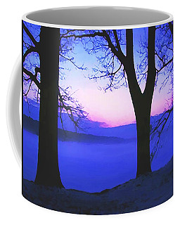 Coffee Mug featuring the painting The Hush At First Light by Sophia Schmierer