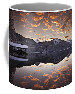The Hut By The Lake Coffee Mug
