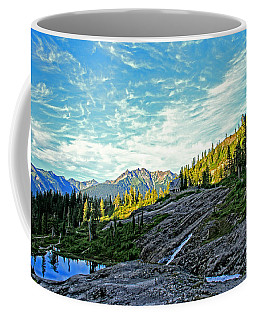 Coffee Mug featuring the photograph The Hut. by Eti Reid