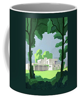 The Ideal House In House And Gardens Coffee Mug