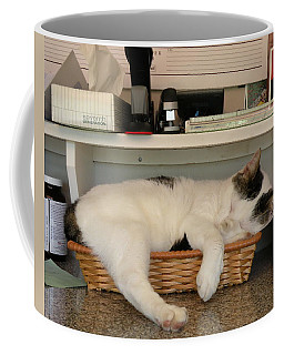 The In Box Is Full - At Good Earth Market - Clarkville Delaware Coffee Mug