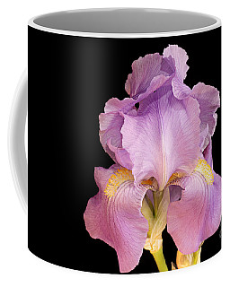 The Iris In All Her Glory Coffee Mug