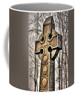 Coffee Mug featuring the photograph The Irish Brigade At Gettysburg  63rd-69th-88th New York Infantry St. Patricks Day 2012 Close-b by Michael Mazaika