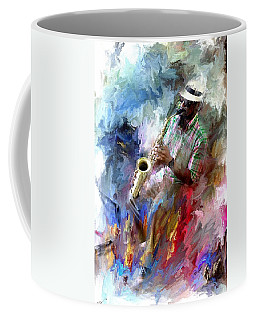 The Jazz Player Coffee Mug