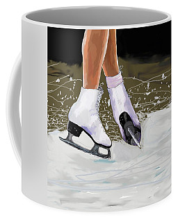 The Jump Coffee Mug by Jeanne Fischer