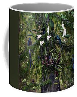 The Jungle Of Guatemala Coffee Mug by Jennifer Lake