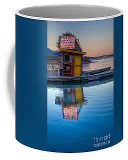 The Kayak Shack Morro Bay Coffee Mug by Terry Garvin