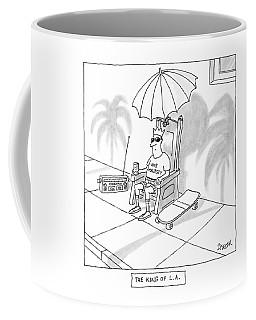 The King Of L.a Coffee Mug