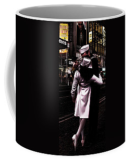 The Kiss In Times Square Coffee Mug