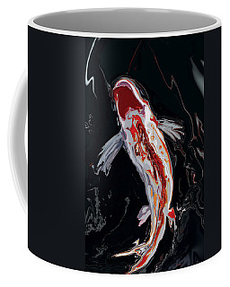 The Koi Coffee Mug by Rabi Khan
