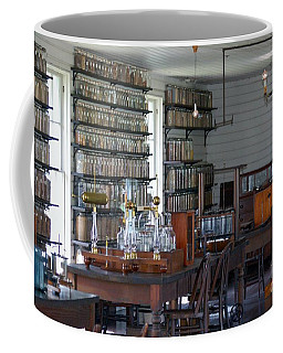 The Laboratory Coffee Mug by Patrick Shupert