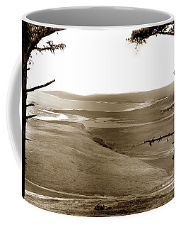 The Lagoon At The Mouth Of The Carmel River  From Fish Ranch California 1905 Coffee Mug