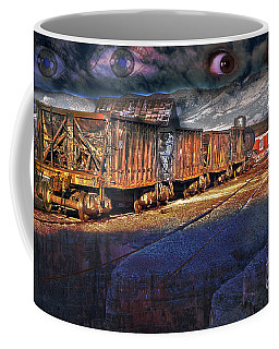 Coffee Mug featuring the photograph The Last Shipment by Gunter Nezhoda