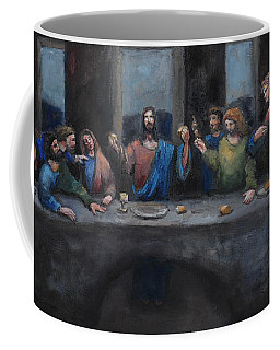 The Last Supper Coffee Mug by Carole Foret