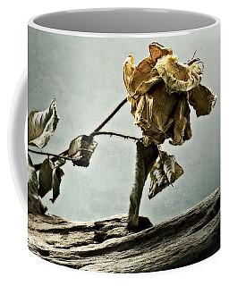 The Last Yellow Rose Of Summer Coffee Mug