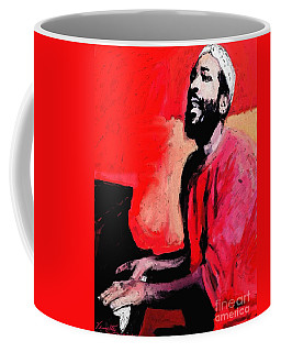 The Late Great Marvin Gaye Coffee Mug by Vannetta Ferguson