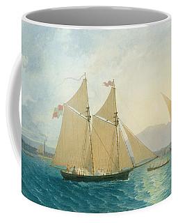 The Launch La Sociere On The Lake Of Geneva Coffee Mug