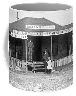The Law West Of The Pecos Coffee Mug