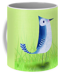 The Letter Blue J Coffee Mug