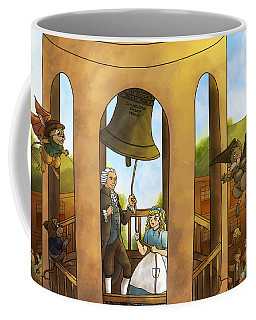 The Liberty Bell Coffee Mug by Reynold Jay