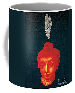 Coffee Mug featuring the painting The Light Of Face_ Sold by Fei A