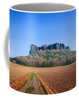 The Lilienstein On An Autumn Morning Coffee Mug