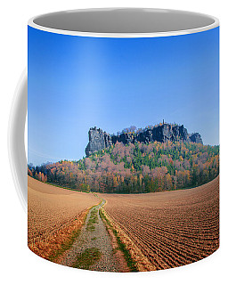 The Lilienstein On An Autumn Morning Coffee Mug