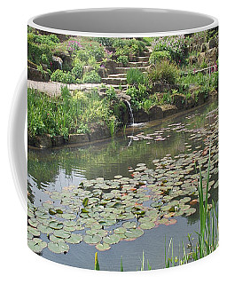 Coffee Mug featuring the photograph The Lily Pond At Rhs Wisley by Jayne Wilson