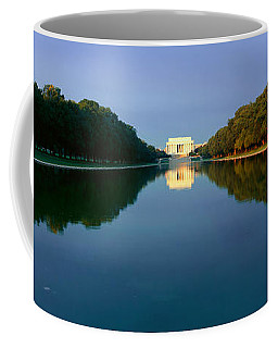 The Lincoln Memorial At Sunrise Coffee Mug