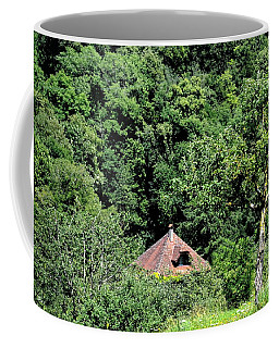 The Little House In The Woods Coffee Mug by Michelle Meenawong