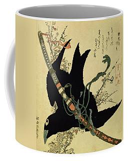 The Little Raven With The Minamoto Clan Sword Coffee Mug