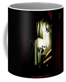 The Locker  Mickey Mantle's And Joe Dimaggio's Locker Coffee Mug
