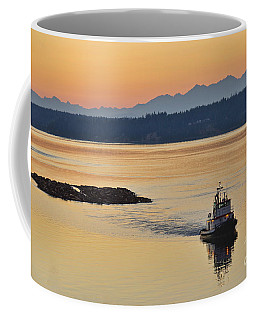 The Log Raft Coffee Mug