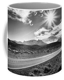 Coffee Mug featuring the photograph The Lonely Road by Howard Salmon