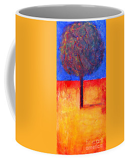 The Lonely Tree In Autumn Coffee Mug