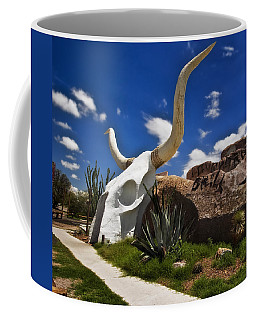 The Long Horn Grill Coffee Mug by Gary Warnimont