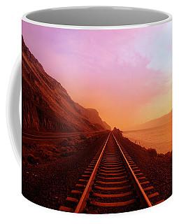 The Long Walk To No Where  Coffee Mug by Jeff Swan