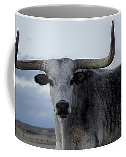 The Longhorn Coffee Mug by Ernie Echols